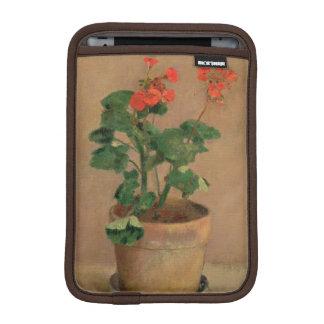Geraniums in a Pot, c.1905 (oil on canvas) iPad Mini Sleeve