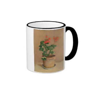 Geraniums in a Pot, c.1905 (oil on canvas) Ringer Mug