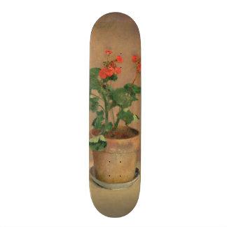 Geraniums in a Pot, c.1905 (oil on canvas) Skateboard