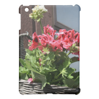 Geraniums Cover For The iPad Mini