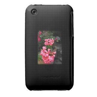 Geraniums. Pelargonium flowers. iPhone 3 Case