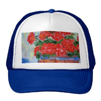 Geraniums Trucker Hat