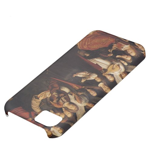 Gerard David- Madonna with Angels and Saints iPhone 5C Cover