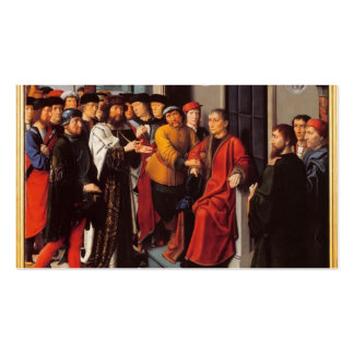 Gerard David- The Judgement of Cambyses Double-Sided Standard Business Cards (Pack Of 100)