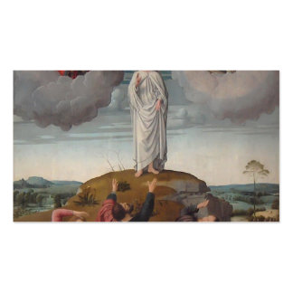 Gerard David- The Transfiguration of Christ Business Card Templates