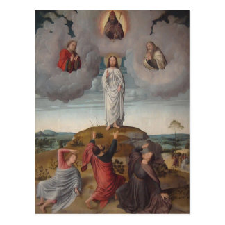 Gerard David- The Transfiguration of Christ Post Card