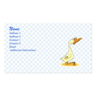 Gerard Goose Business Cards