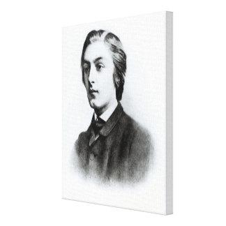Gerard Manley Hopkins Impresión En Lienzo Estirada