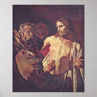 Gerard van Honthorst - dudar a Thomas Posters