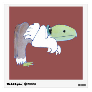 Gerard Vulture And His Dilemma, Watercolor Wall Sticker