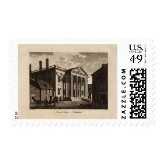 Gerards Bank in Philadelphia Postage Stamp