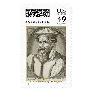 Gerardus Mercator Postage Stamp