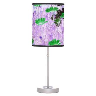 gerber daisies field multi colored flower invert table lamp