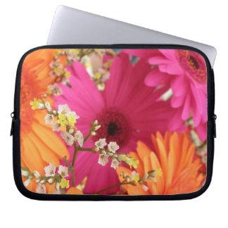 Gerber Daisy Case Laptop Computer Sleeve