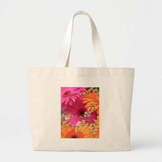 Gerber Daisy Large Tote Bag