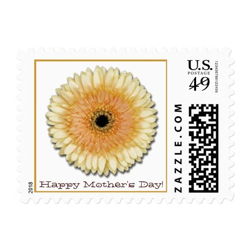 Gerber Daisy Mother's Day Postage