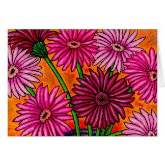 Gerber Daisy Note Card