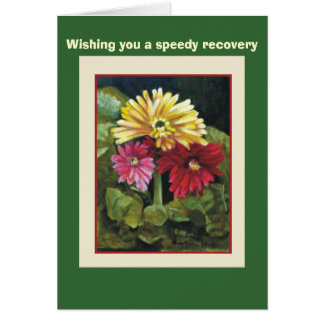 Gerber Daisys, Wishing you a spe... Greeting Card