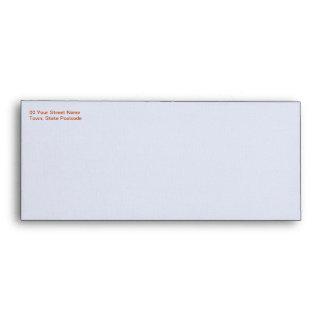Gerbera #10 Wedding Envelope