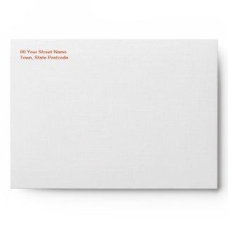 Gerbera A7 Wedding Envelope
