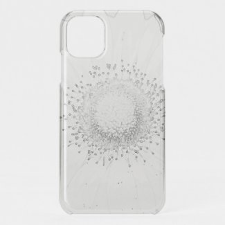 Gerbera BW iPhone 11 Case