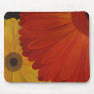 Gerbera Daisies from Original Oil on Canvas Mouse Pad