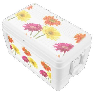 Gerbera Daisies Igloo Chest Cooler