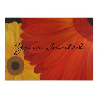 Gerbera Daisies Invitations