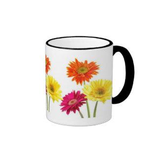 Gerbera Daisies Ringer Mug