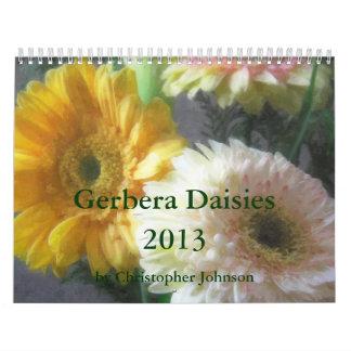 Gerbera Daisy 2013 Calendar