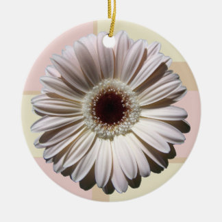 Gerbera Daisy and Patchwork Ornaments