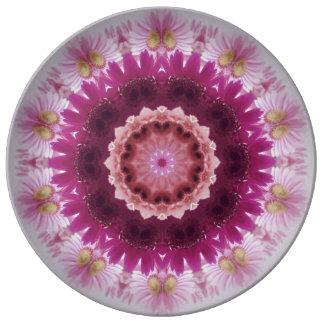 Gerbera-Daisy-Arrangement Porcelain Plate