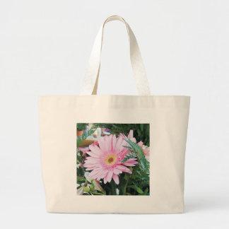 gerbera daisy jumbo tote bag