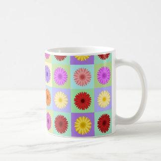 Gerbera Daisy Big Pattern Coffee Mug