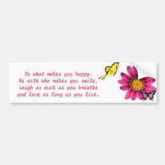 Gerbera Daisy Bumper Sticker