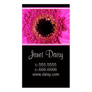 Gerbera Daisy Business Card Template