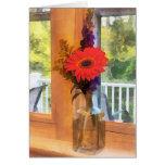 Gerbera Daisy by Kitchen Window Card