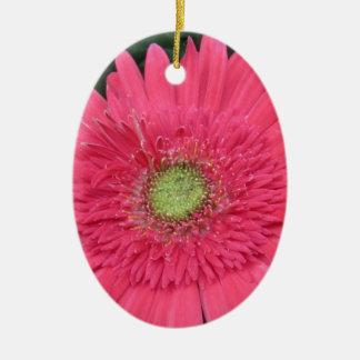 Gerbera Daisy Ceramic Ornament
