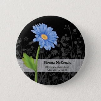 Gerbera Daisy * choose background color Pinback Button