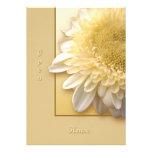 Gerbera Daisy Custom Invitations