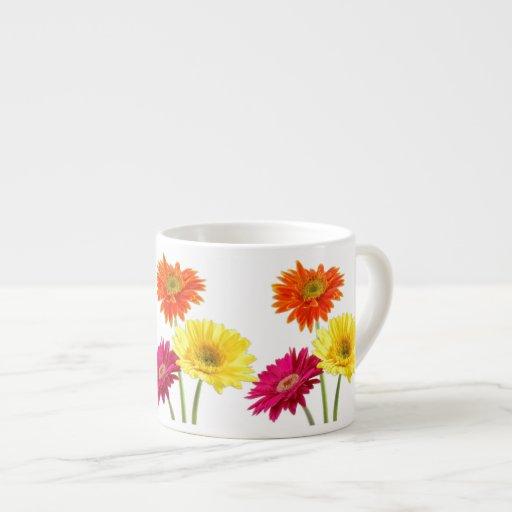 Gerbera Daisy Espresso Cup