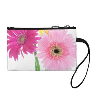 Gerbera Daisy Flowers Coin Wallet