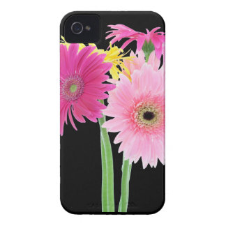 Gerbera Daisy Flowers iPhone 4 Cases
