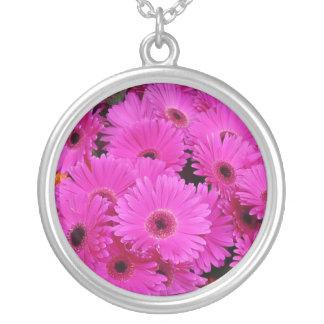 Gerbera Daisy Flowers Necklaces