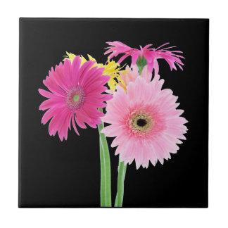 Gerbera Daisy Flowers Tiles