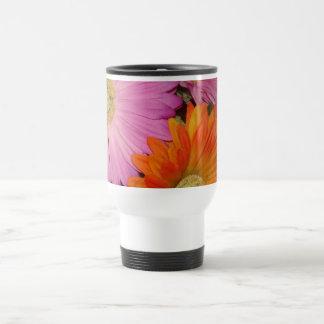 Gerbera Daisy Garden Travel Mug