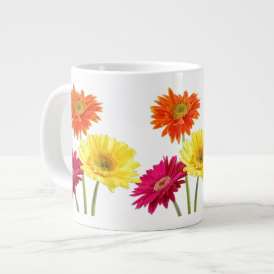 Gerbera Daisy Large Coffee Mug