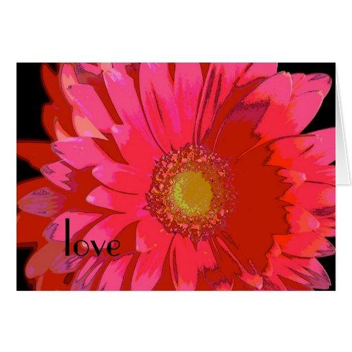 Gerbera Daisy Love Card