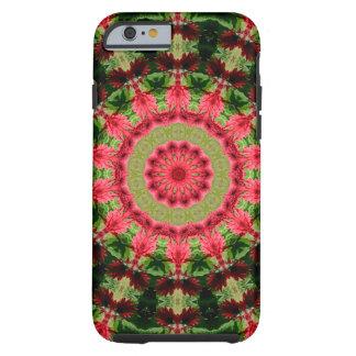Gerbera Daisy Mandala Tough iPhone 6 Case