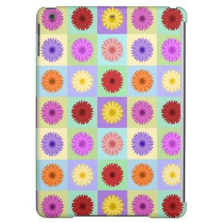 Gerbera Daisy Pattern iPad Air Cases